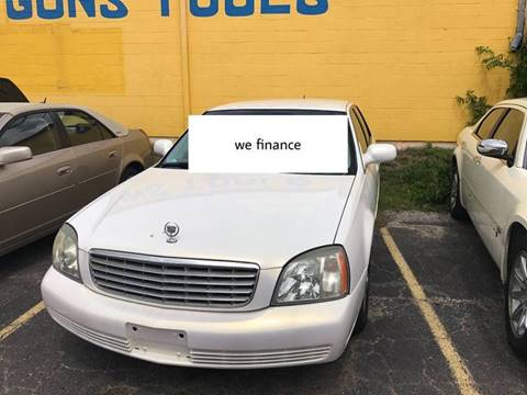 2005 Cadillac DeVille for sale in Lancaster TX