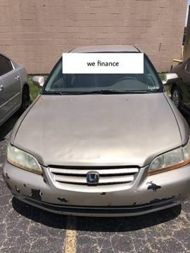 2001 Honda Accord for sale in Lancaster TX