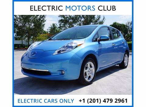 2013 Nissan LEAF for sale in Lauderhill, FL