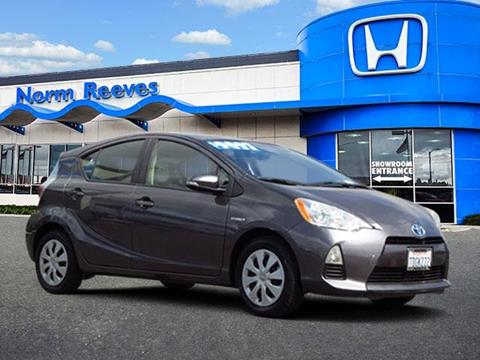 2013 Toyota Prius c for sale in Irvine, CA