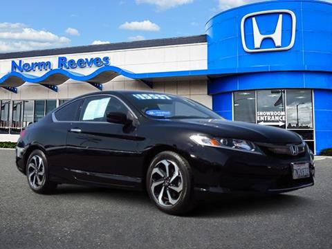 2016 Honda Accord for sale in Irvine, CA