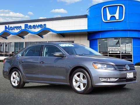 2015 Volkswagen Passat for sale in Irvine, CA