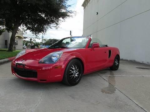 2002 Toyota MR2 Spyder For Sale In Richmond, TX