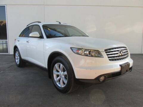2004 Infiniti FX35 for sale at QUALITY MOTORCARS in Richmond TX