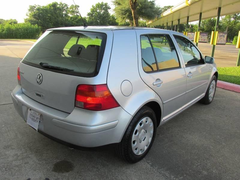 2004 Volkswagen Golf GL 4dr Hatchback In Richmond TX  QUALITY