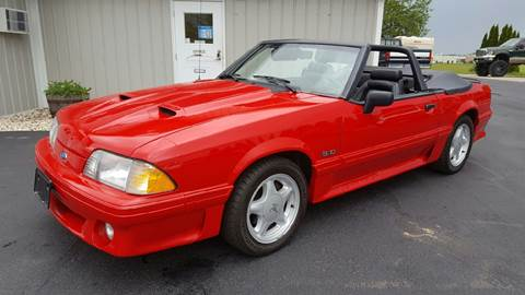 1993 Ford Mustang for sale at 920 Automotive in Watertown WI
