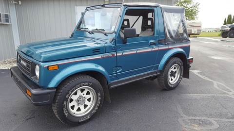 1987 Suzuki Samurai for sale at 920 Automotive in Watertown WI