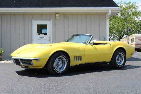 1968 Chevrolet Corvette for sale at 920 Automotive in Watertown WI