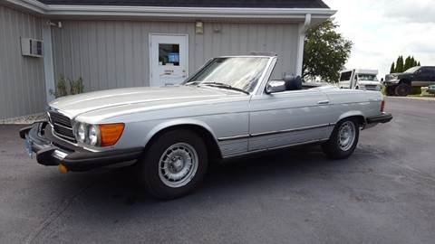 1980 Mercedes-Benz 450 SL for sale at 920 Automotive in Watertown WI