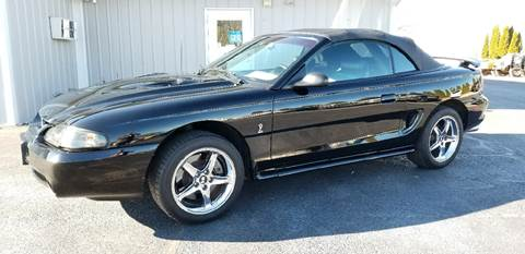 1997 Ford Mustang SVT Cobra for sale at 920 Automotive in Watertown WI