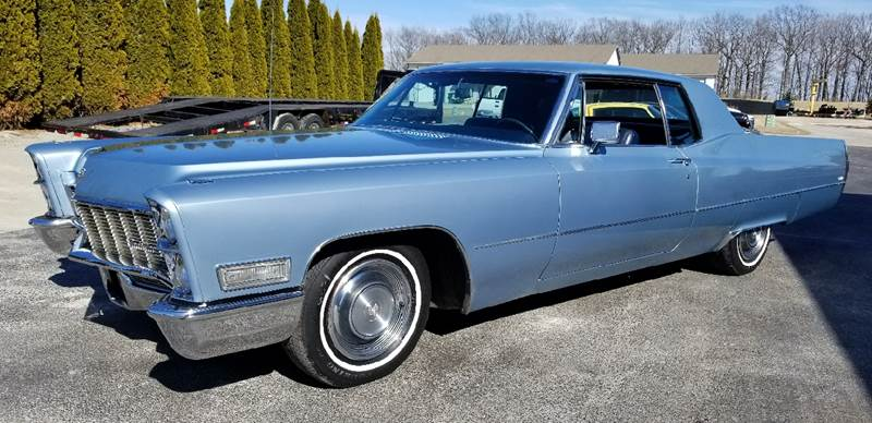 1968 Cadillac DeVille for sale at 920 Automotive in Watertown WI