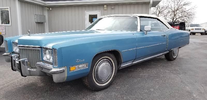1972 Cadillac Eldorado for sale at 920 Automotive in Watertown WI