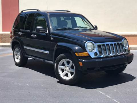 2005 Jeep Liberty for sale at ATLAS AUTOS in Marietta GA