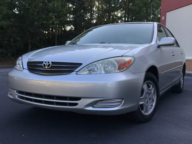 2002 Toyota Camry for sale at ATLAS AUTOS in Marietta GA