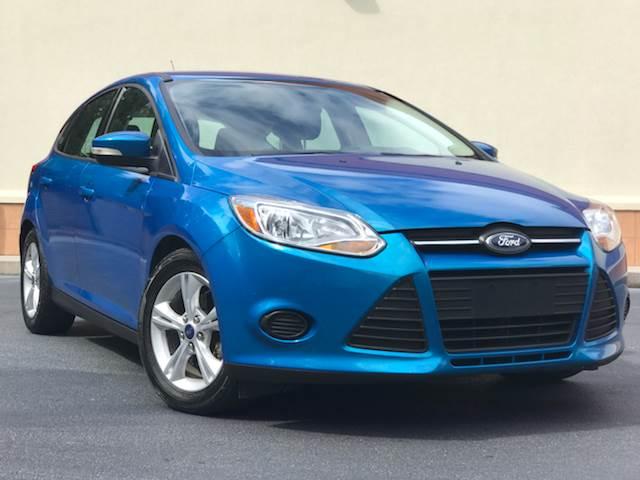 2013 Ford Focus for sale at ATLAS AUTOS in Marietta GA