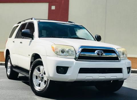 2007 Toyota 4Runner for sale at ATLAS AUTOS in Marietta GA