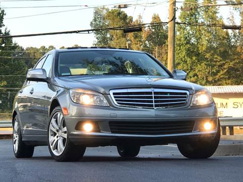 2008 Mercedes-Benz C-Class for sale at ATLAS AUTOS in Marietta GA