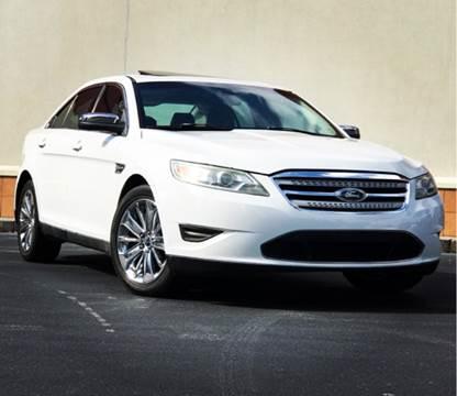 2010 Ford Taurus for sale at ATLAS AUTOS in Marietta GA