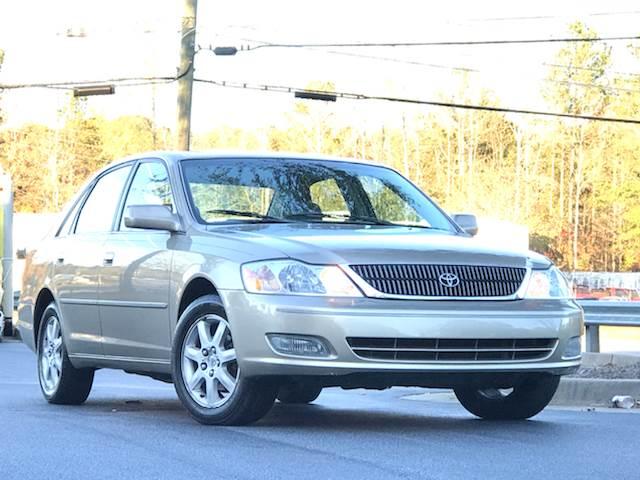 2002 Toyota Avalon For Sale At ATLAS AUTOS In Marietta GA