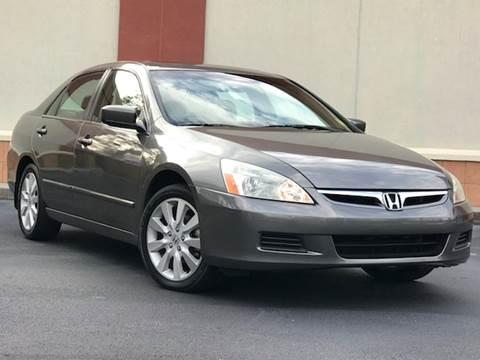 2007 Honda Accord for sale at ATLAS AUTOS in Marietta GA