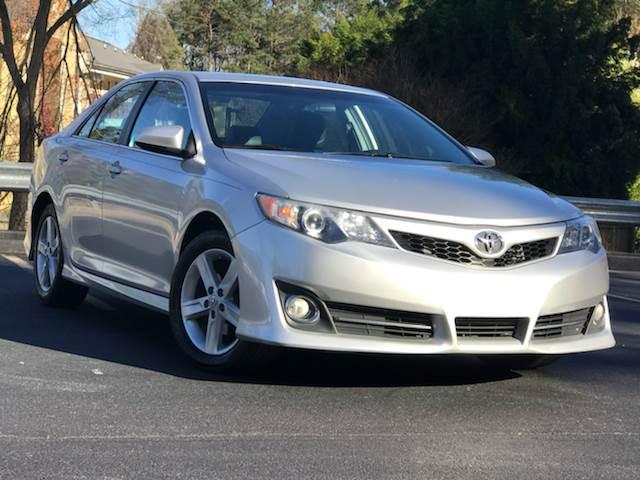 2012 Toyota Camry for sale at ATLAS AUTOS in Marietta GA