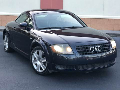 2004 Audi TT for sale at ATLAS AUTOS in Marietta GA