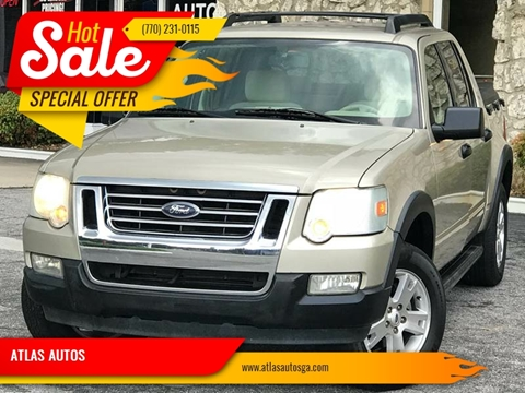 2007 Ford Explorer Sport Trac for sale at ATLAS AUTOS in Marietta GA