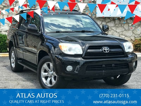 2006 Toyota 4Runner for sale at ATLAS AUTOS in Marietta GA