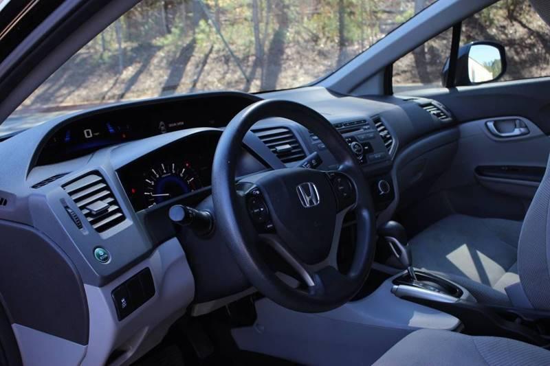 2012 Honda Civic LX 4dr Sedan 5A - Marietta GA
