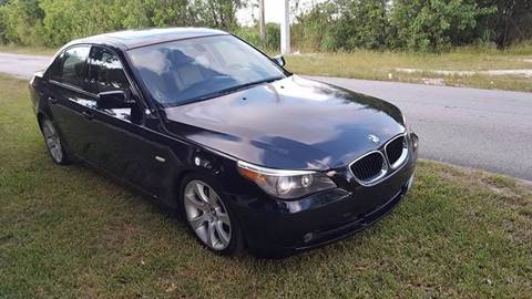 2004 BMW 5 Series for sale at LA Motors Miami in Miami FL