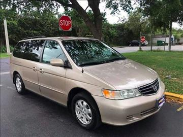 2002 Honda Odyssey for sale at LA Motors Miami in Miami FL