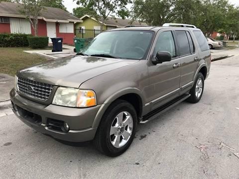 2003 Ford Explorer for sale at LA Motors Miami in Miami FL