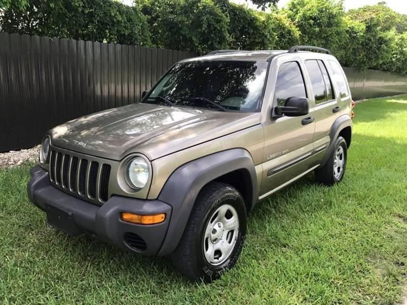 2003 Jeep Liberty For Sale At LA Motors Miami In Miami FL