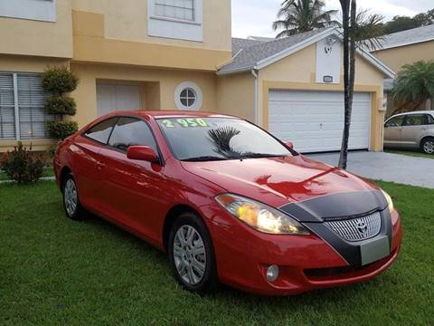 2004 Toyota Camry Solara for sale at LA Motors Miami in Miami FL
