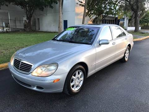 2001 Mercedes-Benz S-Class for sale at LA Motors Miami in Miami FL