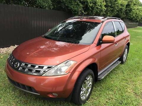 2005 Nissan Murano for sale at LA Motors Miami in Miami FL