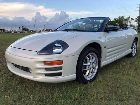 2002 Mitsubishi Eclipse Spyder for sale at LA Motors Miami in Miami FL