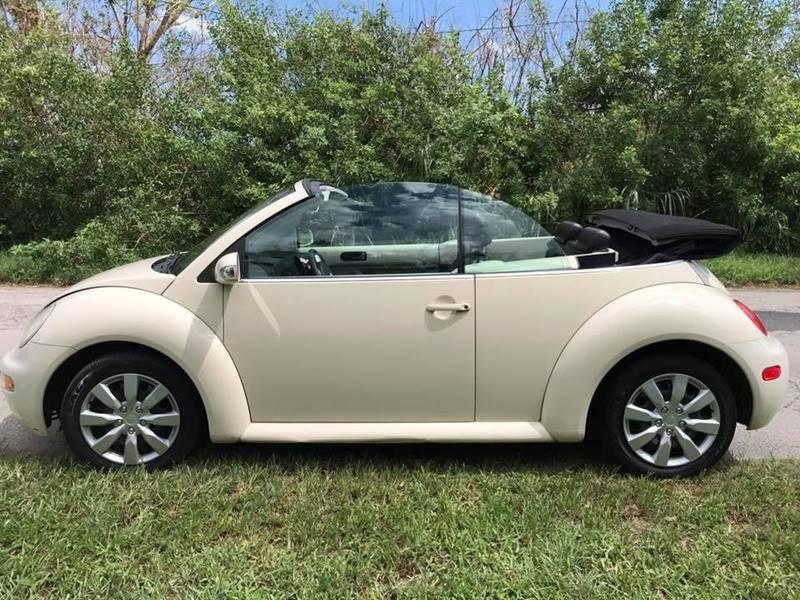 2005 Volkswagen New Beetle for sale at LA Motors Miami in Miami FL