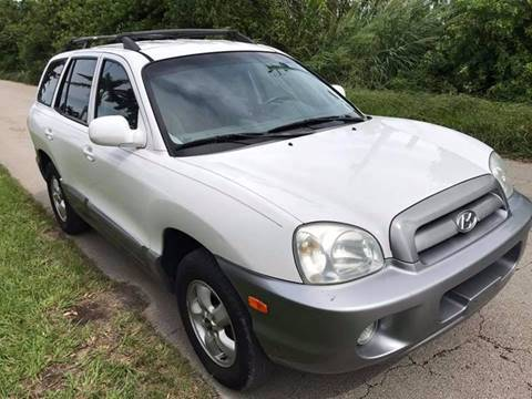 2005 Hyundai Santa Fe for sale at LA Motors Miami in Miami FL