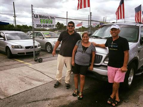 2001 Ford Expedition for sale at LA Motors Miami in Miami FL
