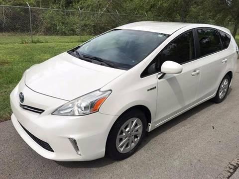 2012 Toyota Prius v for sale at LA Motors Miami in Miami FL