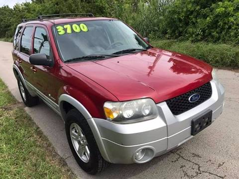 2006 Ford Escape Hybrid for sale at LA Motors Miami in Miami FL