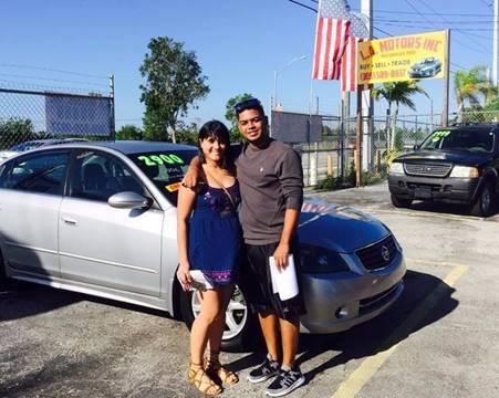 2005 Nissan Altima for sale at LA Motors Miami in Miami FL