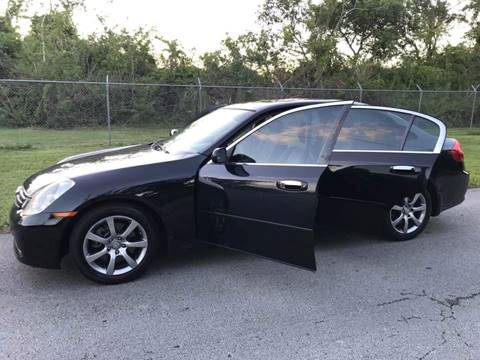 2005 Infiniti G35 for sale at LA Motors Miami in Miami FL