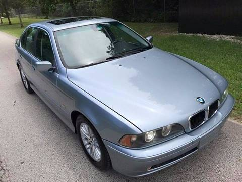 2003 BMW 5 Series for sale at LA Motors Miami in Miami FL