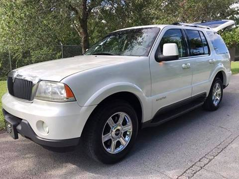 2004 Lincoln Aviator for sale at LA Motors Miami in Miami FL