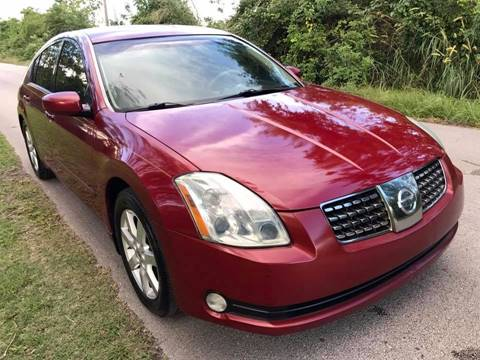 2006 Nissan Maxima for sale at LA Motors Miami in Miami FL