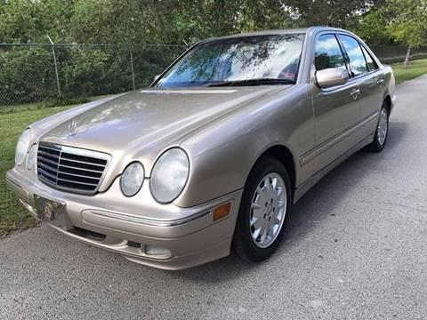 2000 Mercedes-Benz E-Class for sale at LA Motors Miami in Miami FL
