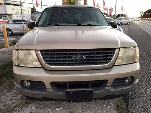 2002 Ford Explorer for sale at LA Motors Miami in Miami FL