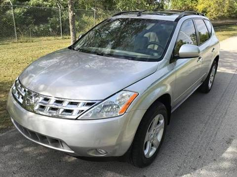 2004 Nissan Murano for sale at LA Motors Miami in Miami FL